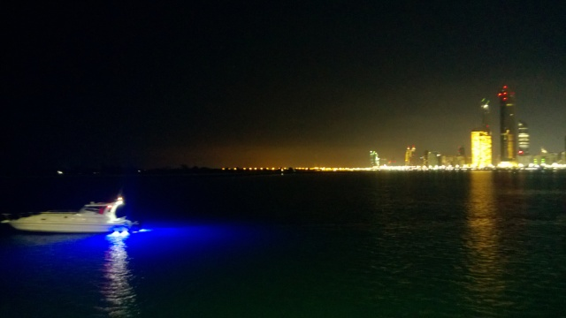 View from the breakwaters